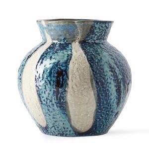 Vase Dapple bleu