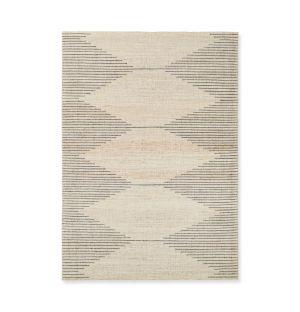 Tapis Bibi en laine et coton - 170 x 240 cm