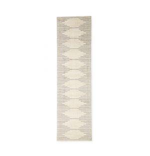 Tapis Bibi en laine et coton - 70 x 250 cm
