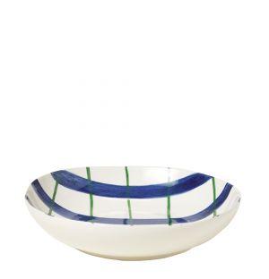 Bol en céramique bleu et vert