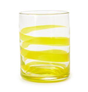 Verre Swirl jaune