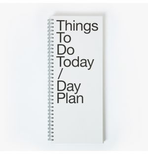 Carnet To Do / Day Plan