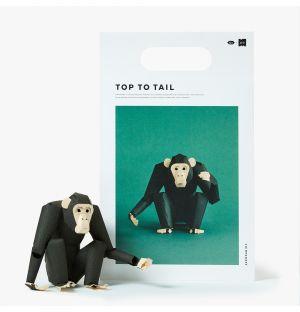 Chimpanzé à assembler Top To Tail