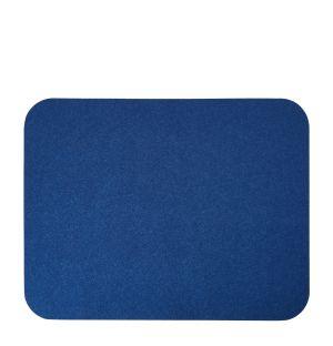 Set de table en feutre bleu