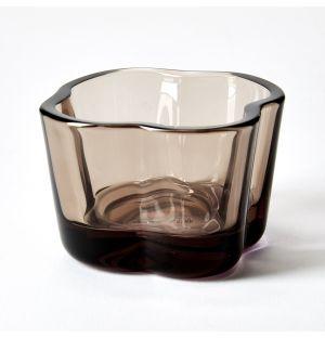 Bougeoir translucide lin