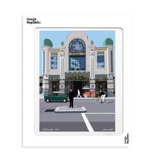 Affiche «South Kensington » par Paulo Mariotti - 56 x 76 cm