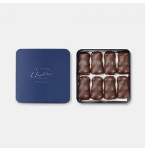 Boîte d'oursons en guimauve et chocolat noir - 375 g