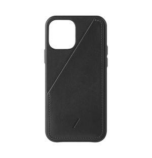 Coque Clic Card pour iPhone 12 Pro - noir