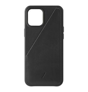 Coque Clic Card pour iPhone 12 Pro Max - noir