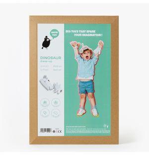 Costume dinosaure en carton recyclé