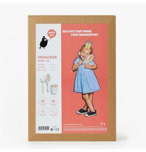 Costume princesse en carton recyclé