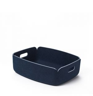 Petit panier de rangement Restore bleu marine