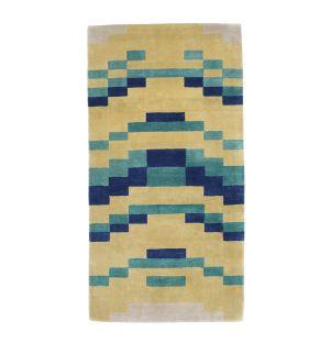 Tapis Temple Emanu-El bleu - 90x180 cm