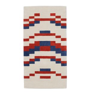 Tapis Temple Berry - 90 x 180 cm