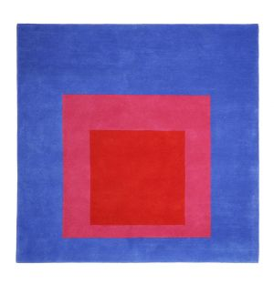 Tapis Full par Josef Albers 175 x 175 cm
