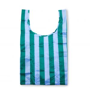 Sac réutilisable bleu et vert