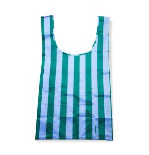 Grand sac réutilisable bleu et vert
