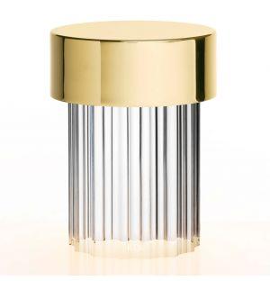 Lampe rechargeable en cristal cannelé Last Order