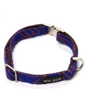 Collier Lola corail pour chien - S