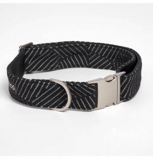 Collier Razzle Dazzle noir pour chien - S
