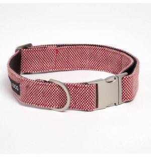 Collier Razzle Dazzle rouge pour chien - L