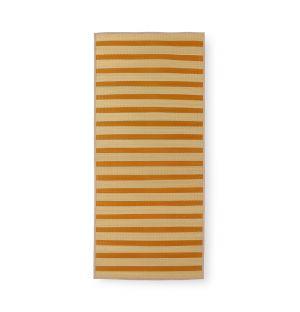 Tapis de plage jaune