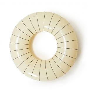 Bouée gonflable blanche - 120 cm