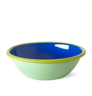 Grand bol bleu et vert