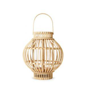 Lanterne Globus en bambou