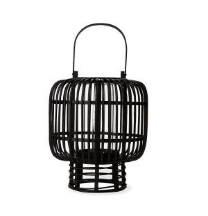 Lanterne en bambou noir Goran