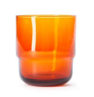 Verre empilable orange