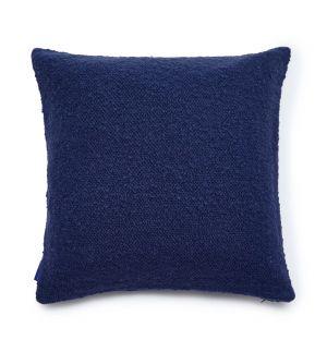 Housse de coussin bleu marine 45 x 45 cm