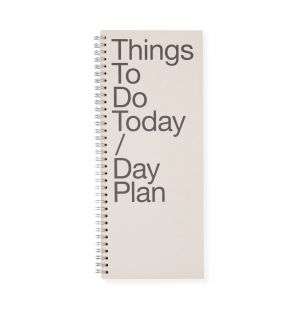 Carnet To Do / Day Plan rose