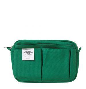 Pochette en coton vert