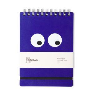 Carnet A5 bleu Conran