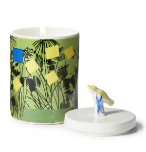 Bougie Ceramic Garden