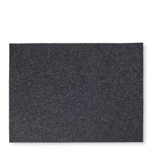 Set de table rectangulaire en feutre gris