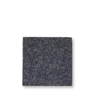 Dessous de verre carré en feutre gris