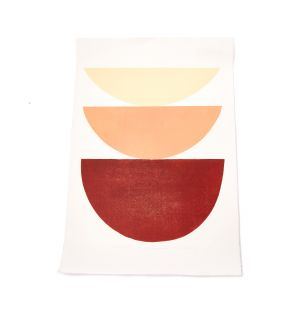 Impression Shades : Study of Shape and Colour terracotta