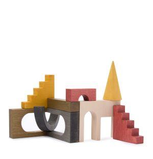 Blocs architecturaux en bois
