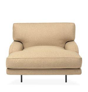 Lounge chair Flaneur beige