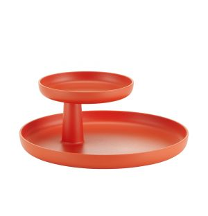Plateau Rotary rouge coquelicot