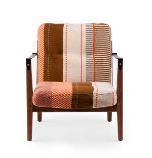 Capo Lounge Chair 781SZ exclusif en Manta Espinhada