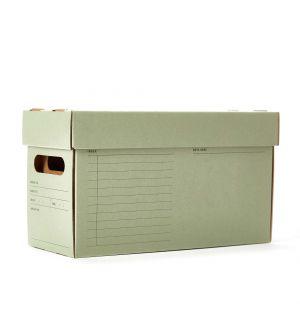 Boîte de rangement A7 verte