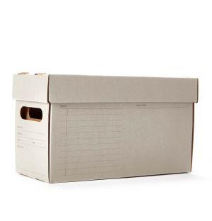 Boîte de rangement A7 grise