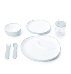 Set de vaisselle Bonbo pour enfant blanc