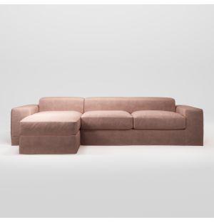 Canapé d'angle gauche Planar Soft