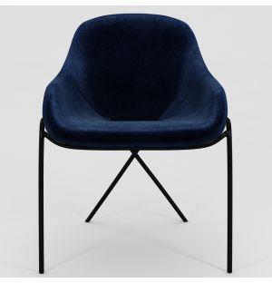 Chaise Cross Leg – piètement noir