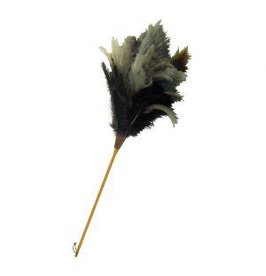 Plumeau en plumes d'autruche 120 cm