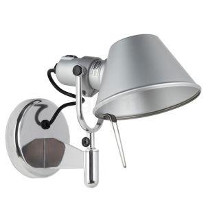 Spot/applique Tolomeo aluminium avec interrupteur - Artemide